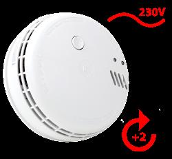 Ei146 Netzbetriebener 230V Rauchwarnmelder