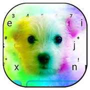 App Cute Colorful Puppy Keyboard Theme APK for Windows Phone