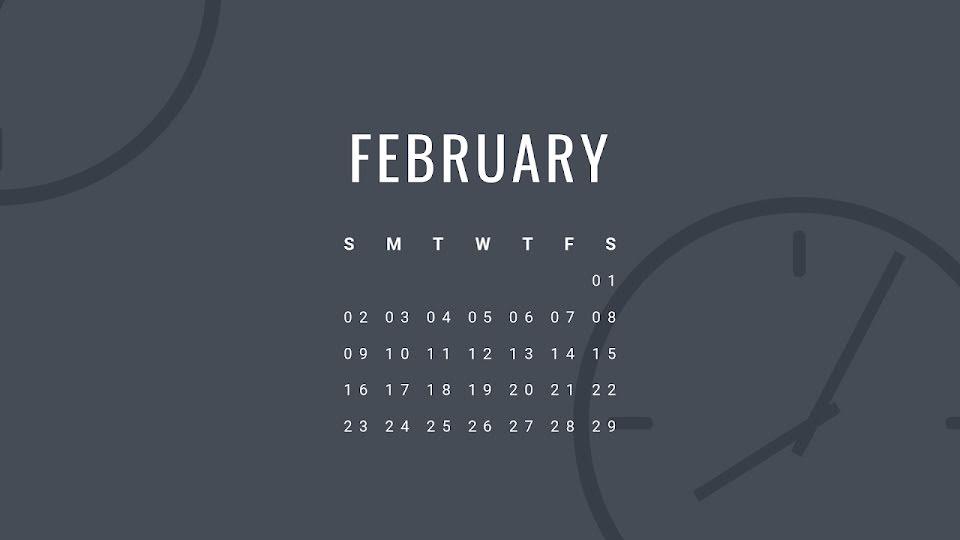Schedule Monthly - Calendar Template