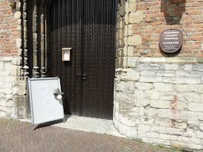 Photo: We verlaten de Koorkerk