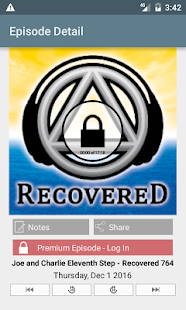 Recovered: #1 Recovery Podcast- screenshot thumbnail