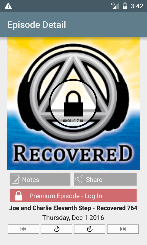 Recovered: #1 Recovery Podcast- screenshot