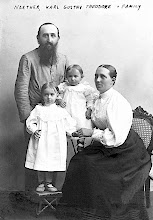 Photo: Karl G. T. Naether and his family — the first missionary to India— 1894 until his death in India in 1904.