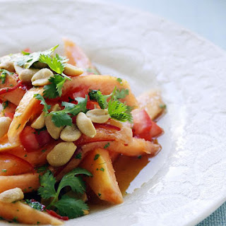 Zingy Papaya Salad.
