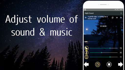 Nature Sounds of the night for comfortable sleep screenshots 4