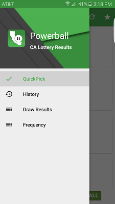 CA Lottery Results - screenshot