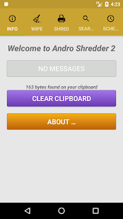 Andro Shredder Screenshot