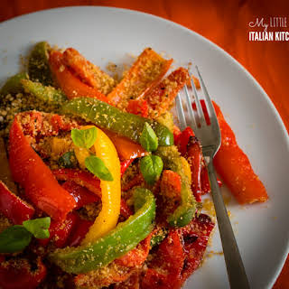 Peppers With Crunchy Breadcrumbs – Easy.