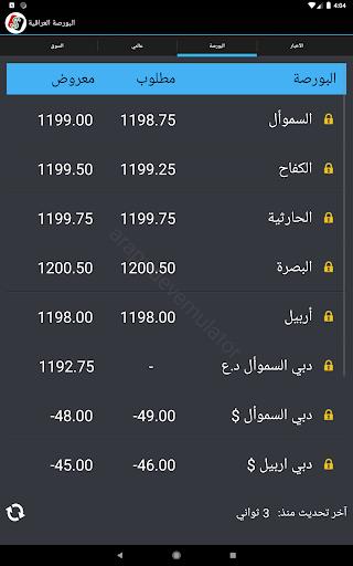 البورصة العراقية  Iraq Boursa screenshot 7