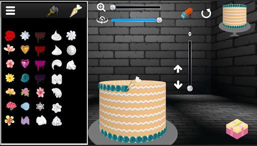 Cake icing real 3d cake maker  captures d'écran 2