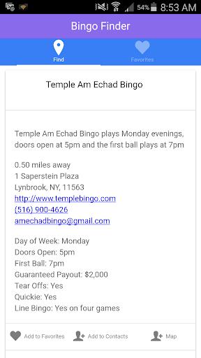 Local Bingo Finder