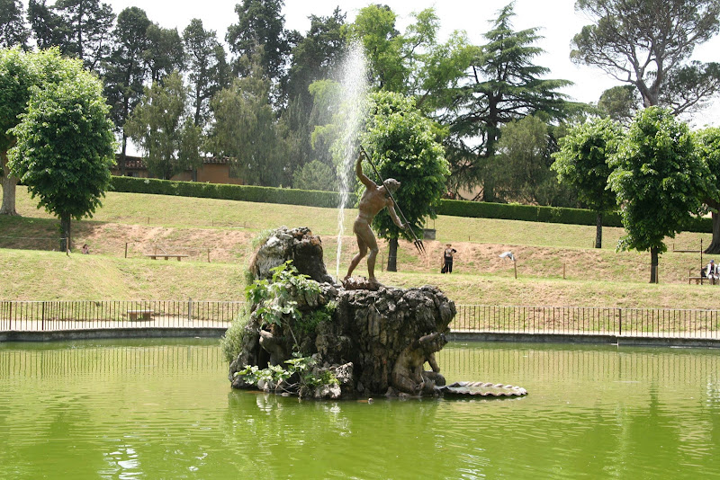 The Fountain of the Fork at Boboli Gardens in Florence.
