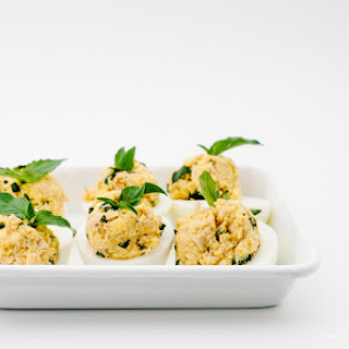 Southern-Style Deviled Eggs Twist.