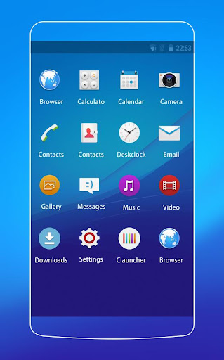 Theme for Xperia Z3+ HD 2.0.50 screenshots 2
