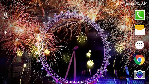 3D Fireworks Live Wallpaper 2019 1.0.5 screenshots 2