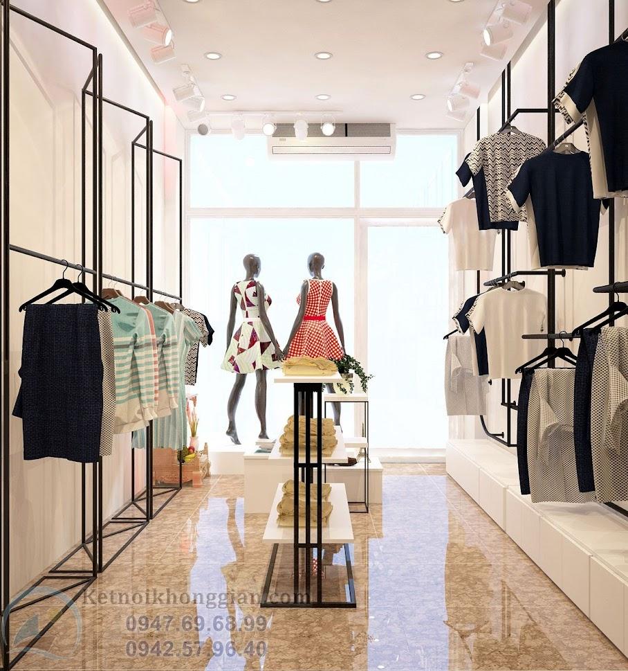 thiết kế shop thời trang nữ chất lượng cao