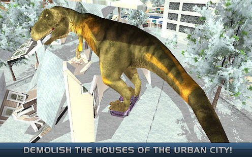 The Last Dinosaurs : Urban Destroyer- screenshot thumbnail