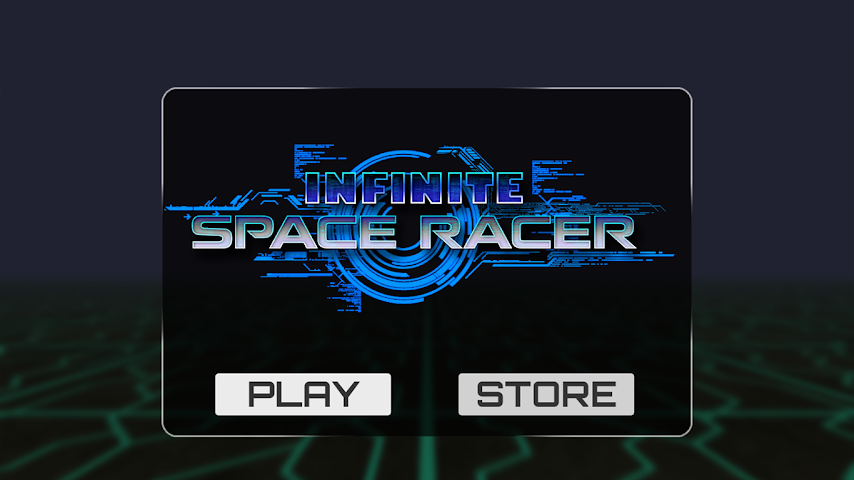 android Infinite Space Racer Screenshot 0