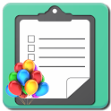 Party Planning Checklist icon