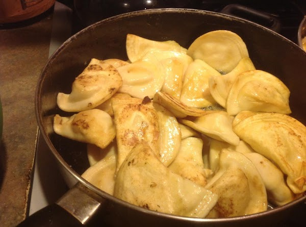 Now add 4 tablespoons of butter to large skillet, I used a 16 inch...