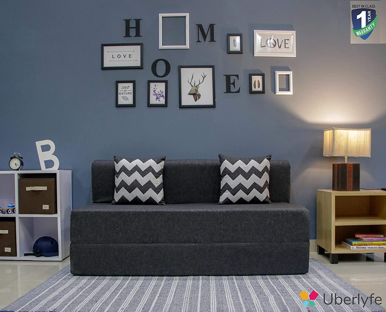 UberLyfe 3 Seater Sofa Cum Bed