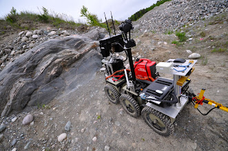 Photo: ROC6 finds its way to Arther outcrop