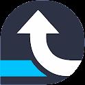 Navigation GPS Bus icon