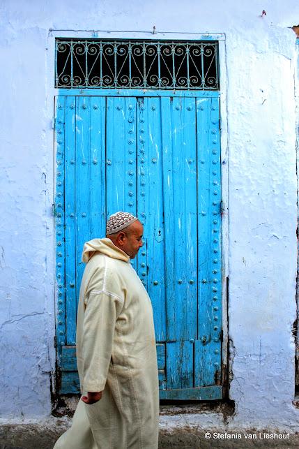 Marokkaanse man in traditionele kledij