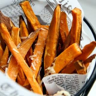 The PERFECT Sweet Potato Fries.