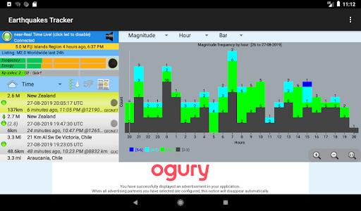 Earthquakes Tracker 2.4.7 screenshots 18