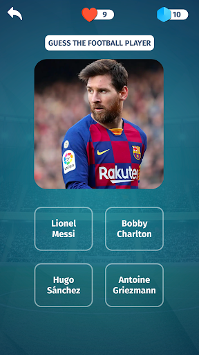 Football Quiz - Guess players, clubs, leagues screenshots 1