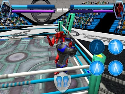 Robot Virtual Boxing 3D- screenshot thumbnail