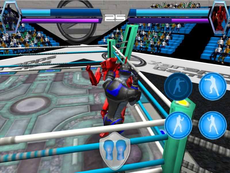 Robot Virtual Boxing 3D- screenshot