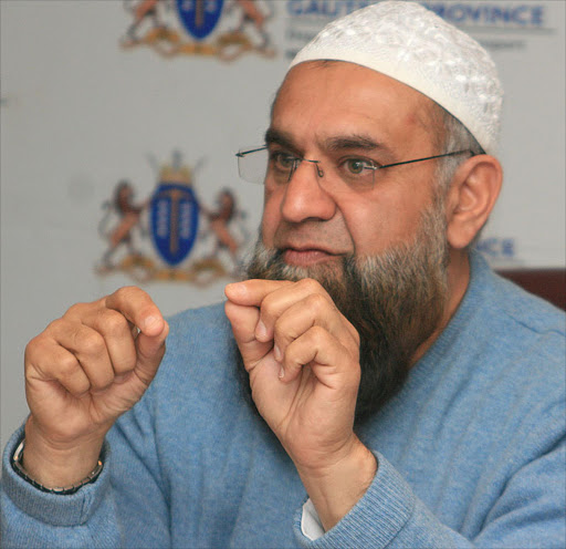 Gauteng MEC for roads and transport Ismail Vadi.