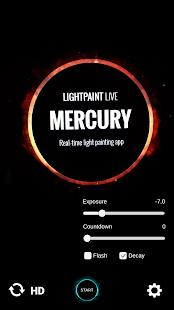 Lightpaint Live: Mercury- screenshot thumbnail