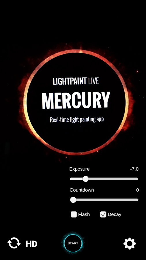 Lightpaint Live: Mercury- screenshot