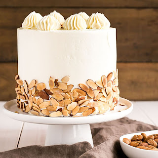 Almond Amaretto Cake.
