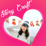Story Craft: Fb,IG,Twitter story editor & Template icon