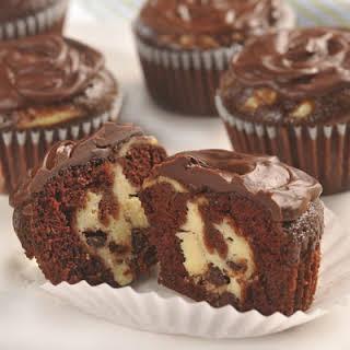 Chocolate Cheesecake Cupcakes.