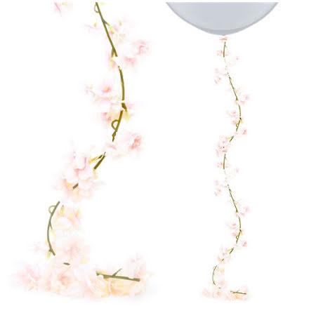 Blomstergirlang rosa blommor
