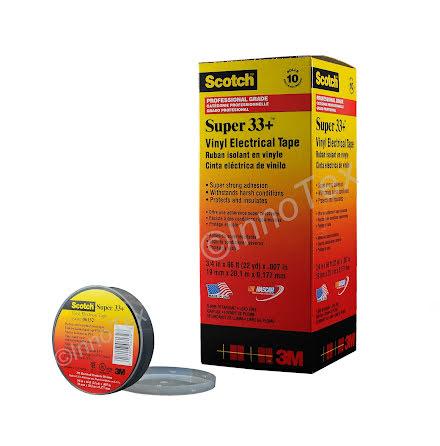 3M Vinyl Tape Super 33+ (Eltejp Premium)