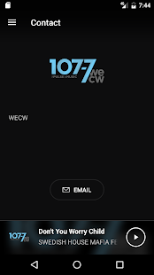 WECW 107.7- screenshot thumbnail