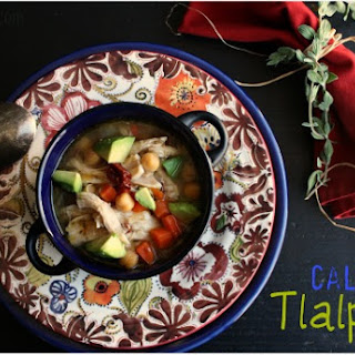 Caldo Tlalpeño (Garbanzo-Vegetable Soup w/ Smoky Broth)