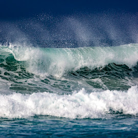 La Jolla by Mark Ritter - Landscapes Waterscapes ( waves, la jolla, rough, ocean, california, wind )
