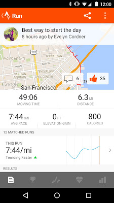 Strava Running and Cycling GPS Premium v4.5.1