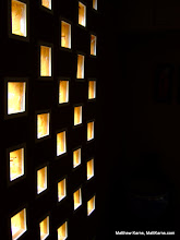 Photo: The stairwell is illuminated by these windows.