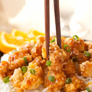 Chinese Orange Chicken.