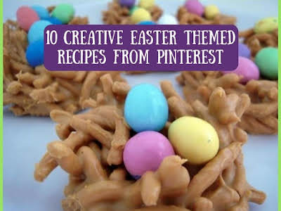 10 Creative Easter Themed Recipes from Pinterest