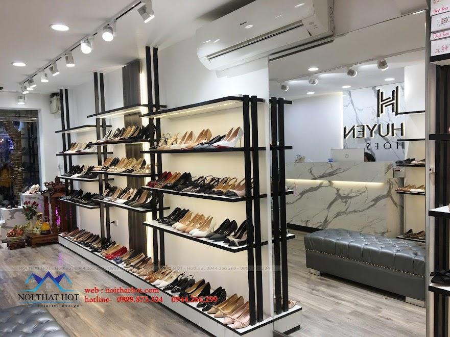 thiết kế thi công shop giày dép thời trang ha huyen 3