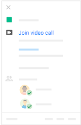 Join video meeting on mobile
